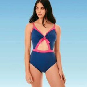 Beach Betty By Miracle Brands High Waist Swimsuit